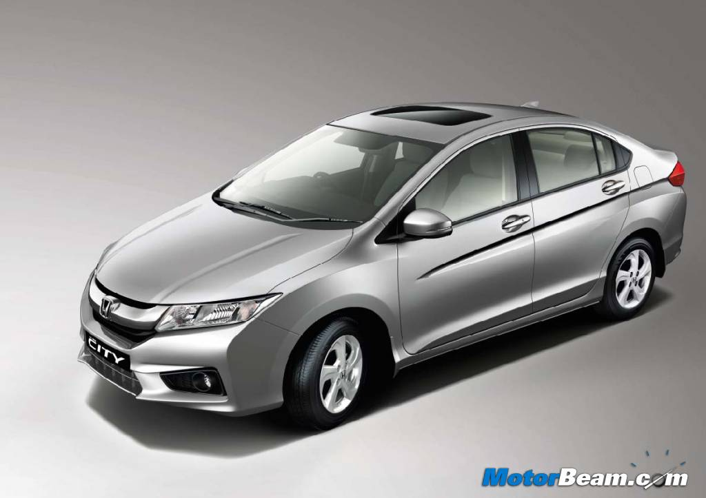 2014 Honda City Studio Shot