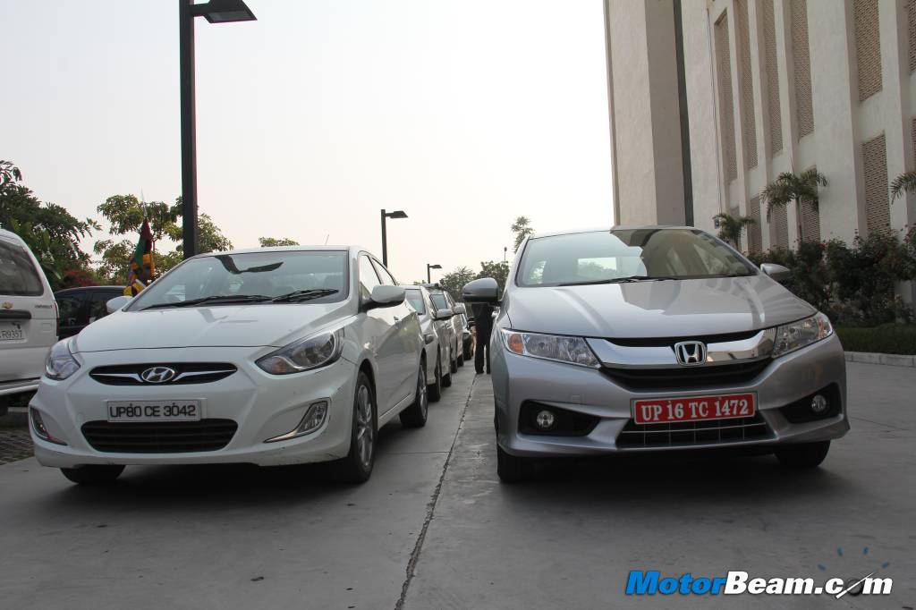 2014 Honda City vs Hyundai Verna