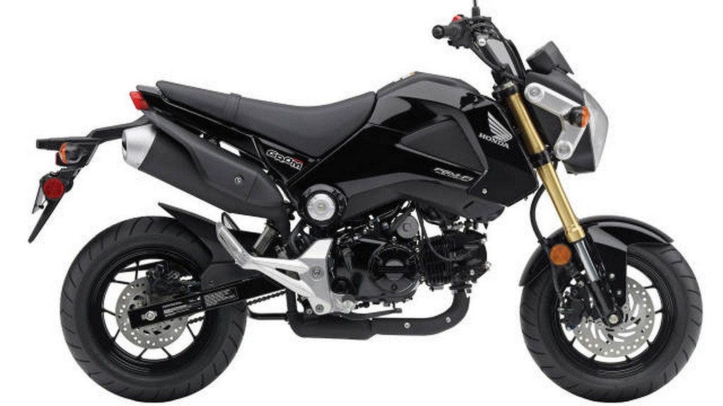 Honda Grom 125cc Motorcycle Launched In America