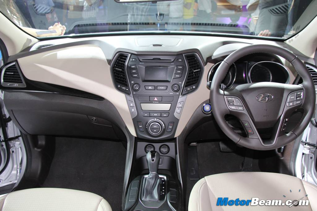 Hyundai Santa Fe Interior Pictures India