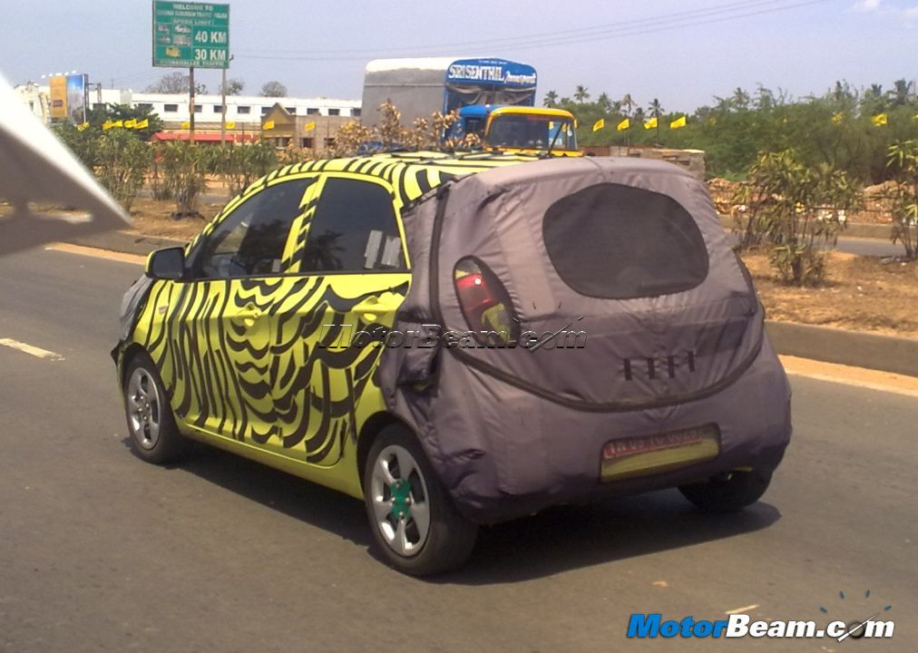 2014 Hyundai i10 Under Test