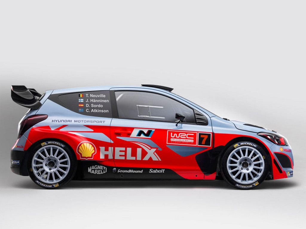 2014 Hyundai i20 WRC Side