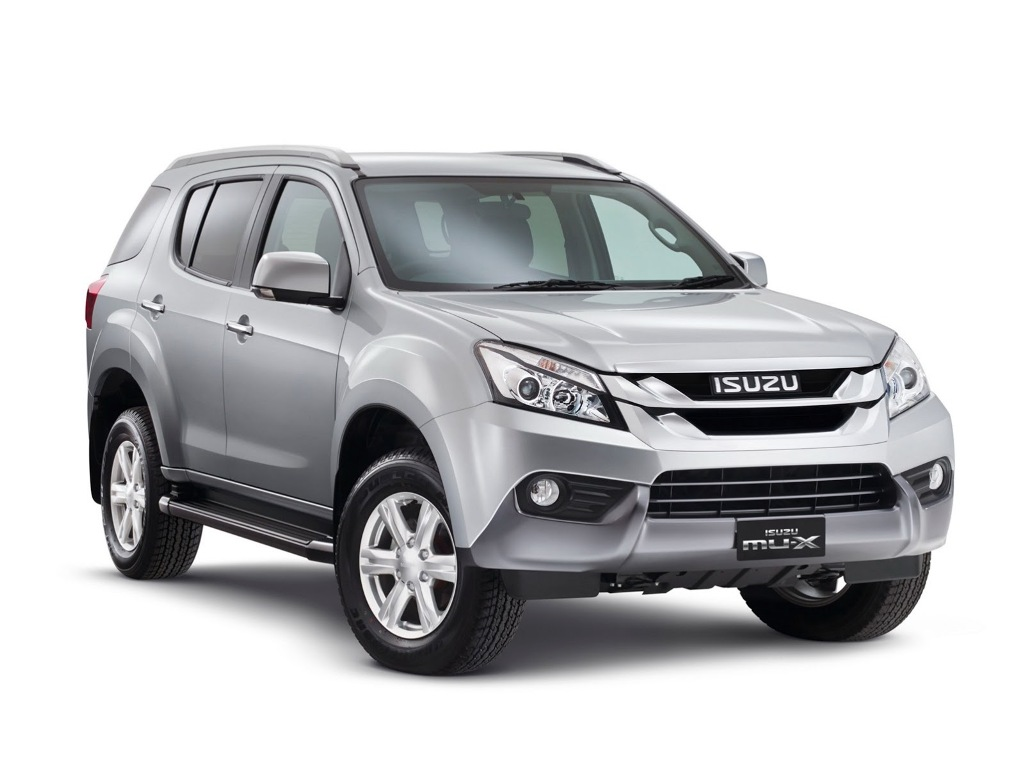2014 Isuzu MU-X SUV Launched In Thailand
