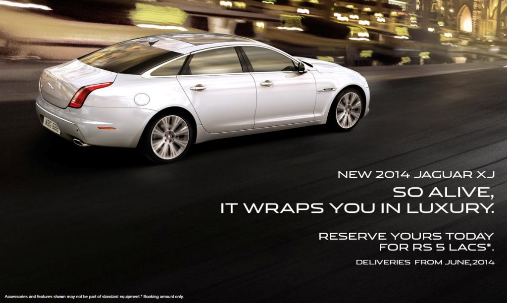 2014 Jaguar XJ Bookings Open