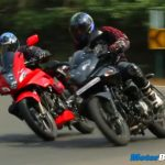 2014 Karizma R vs Pulsar 220 Video Review