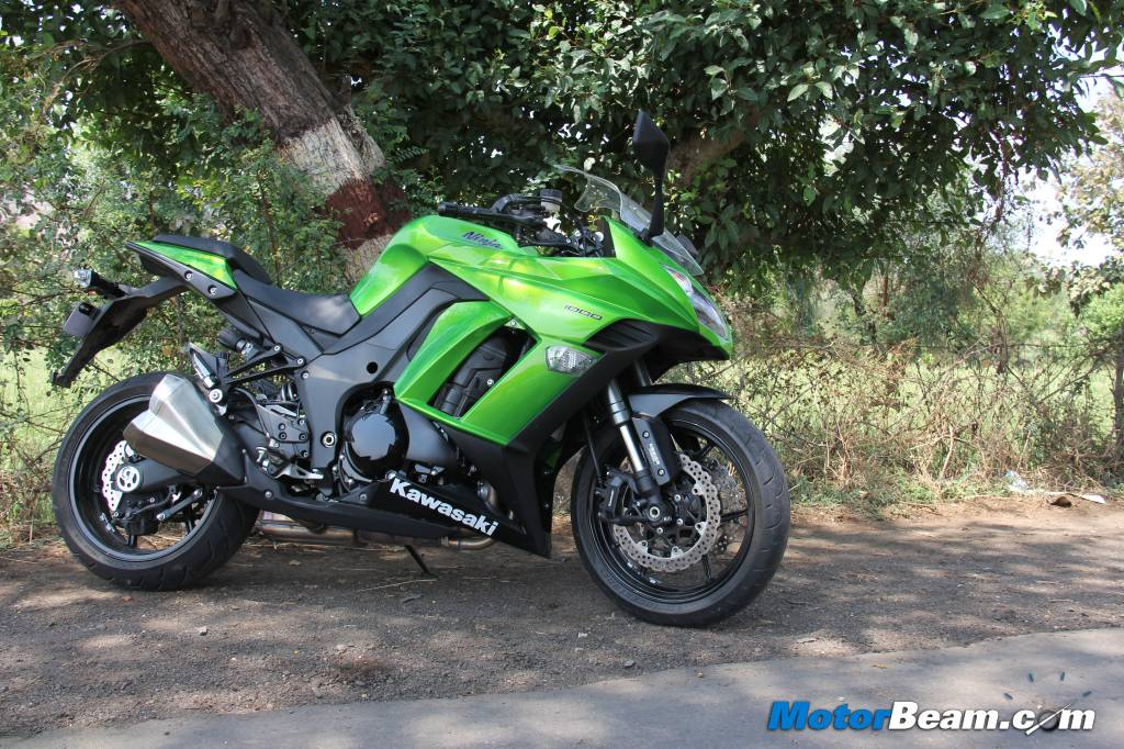 2014 Kawasaki Ninja 1000 Test Ride Review