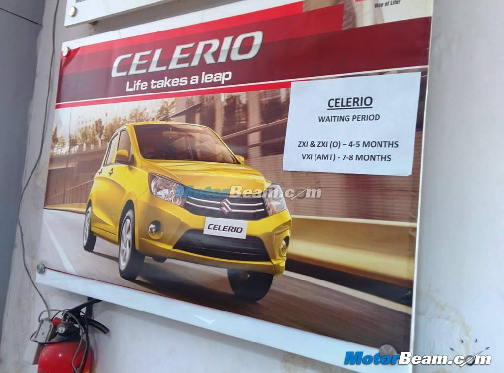 2014 Maruti Celerio Waiting Period