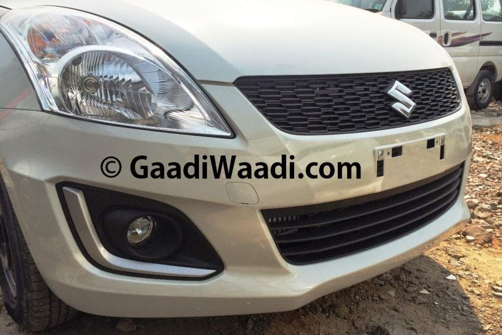 2014 Maruti Swift Facelift Spied Front