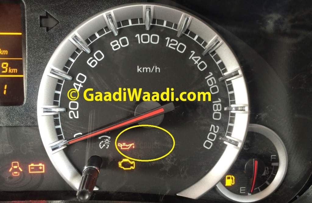2014 Maruti Swift Facelift Spied Instrument Console