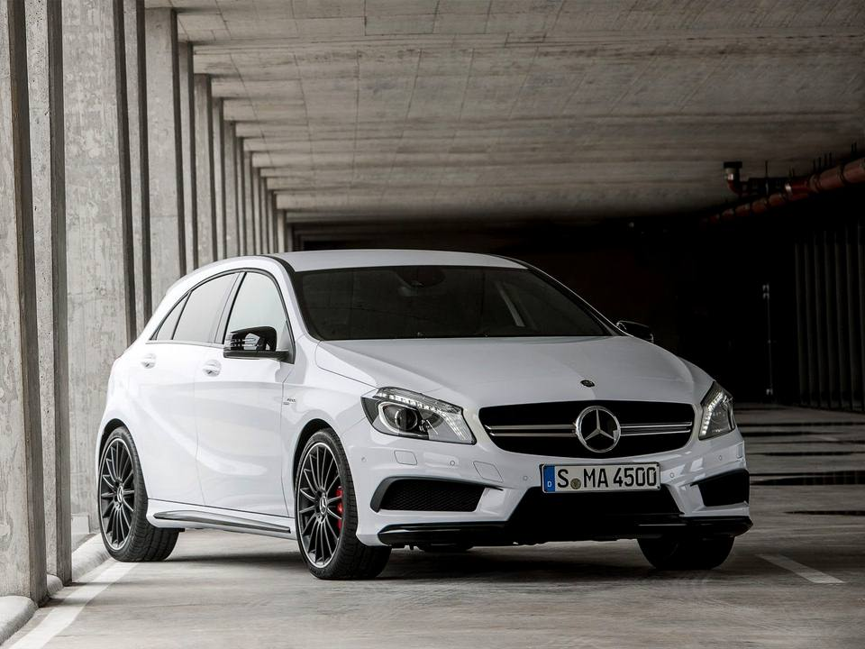 2014 Mercedes A45 AMG front