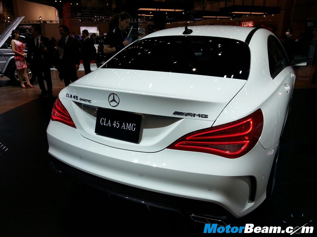 2014 Mercedes Benz CLA 45 AMG Badging