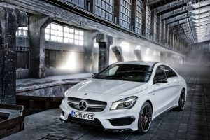 2014-Mercedes Benz CLA45 AMG Front