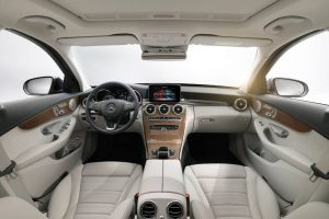2014 Mercedes C-Class India Interiors