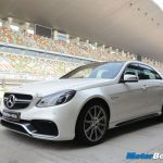 2014 Mercedes E63 AMG Track Experience