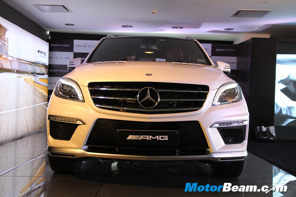 2014 Mercedes ML63 AMG Front