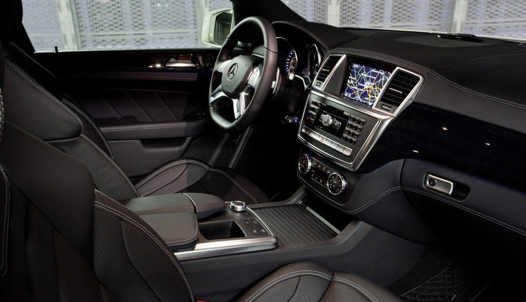 2014 Mercedes ML63 AMG Interior