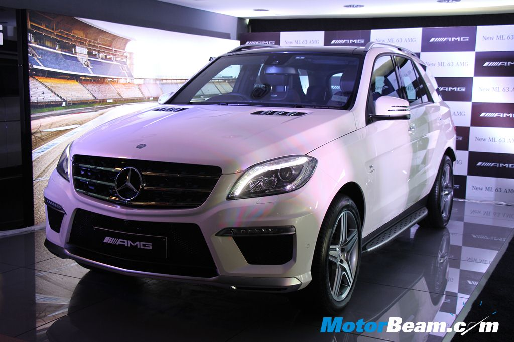 Mercedes Ml63 Amg Launched In India Priced At Rs 1 49 Crore