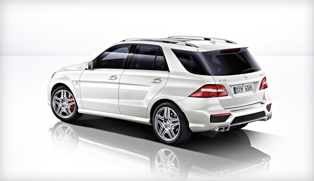 2014 Mercedes ML63 AMG Rear
