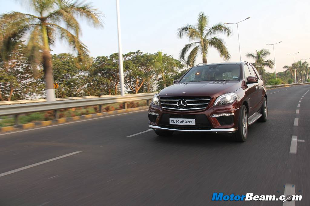 2014 Mercedes ML63 AMG Road Test