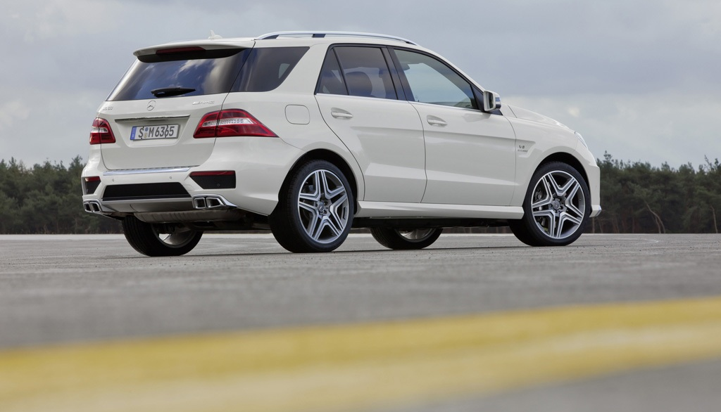 2014 Mercedes ML63 AMG Wallpaper