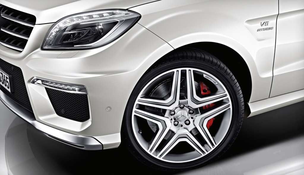 2014 Mercedes ML63 AMG Wheels