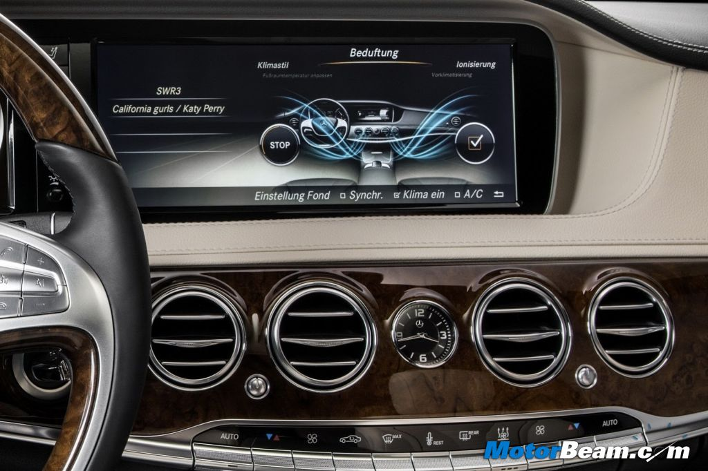 2014 Mercedes S-Class Multimedia Review