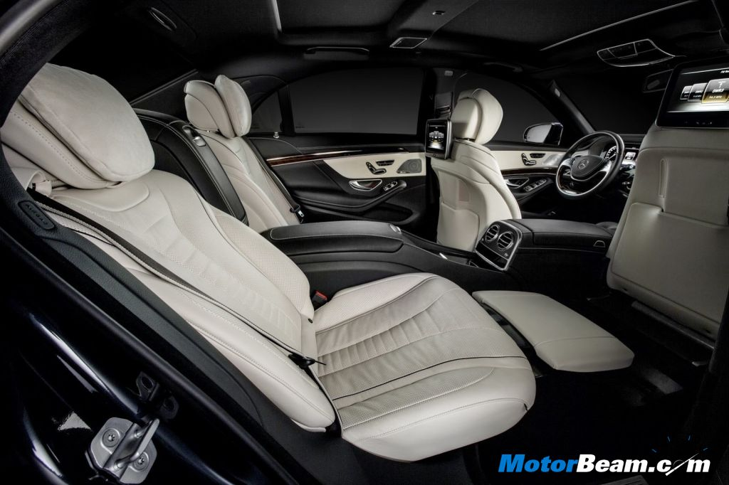 2014 Mercedes S-Class Rear Seat Experience