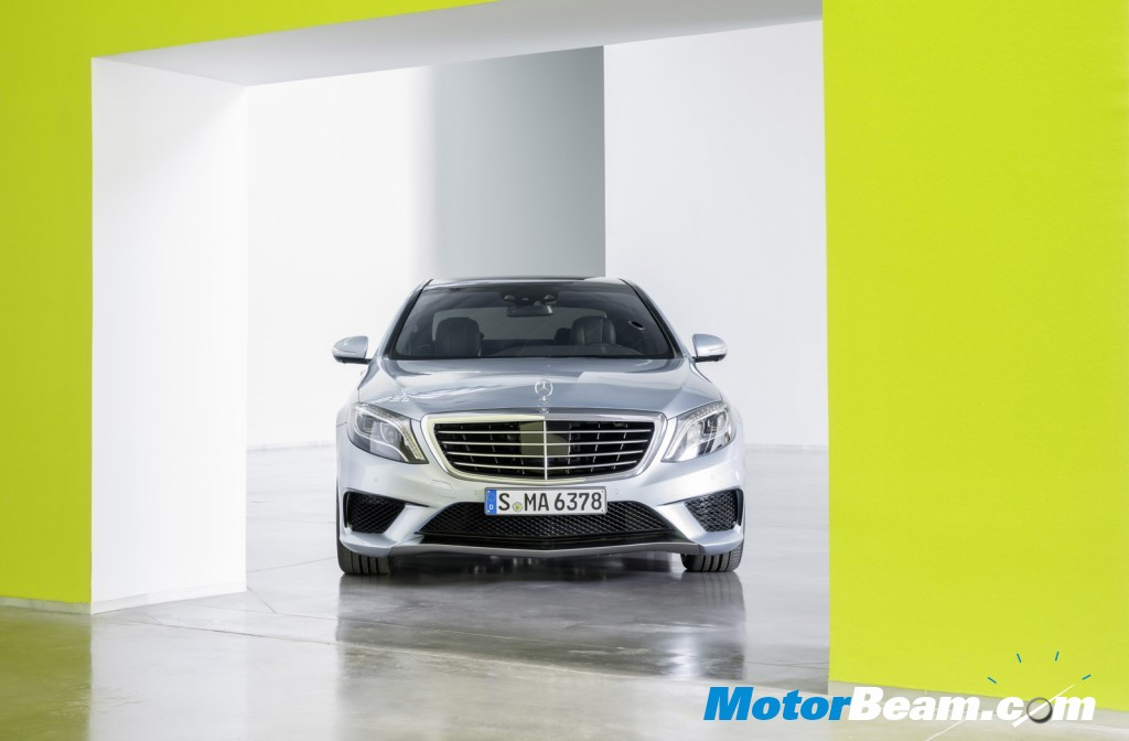 2014 Mercedes S63 AMG Front