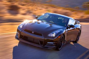2014 Nissan GT-R Track Edition left