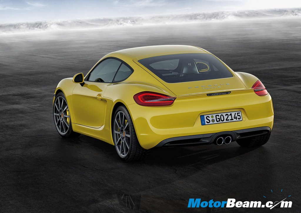 2014 Porsche Cayman Rear
