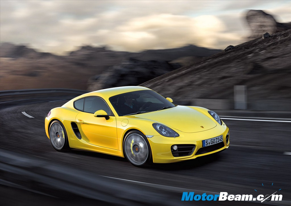 2014 Porsche Cayman Side