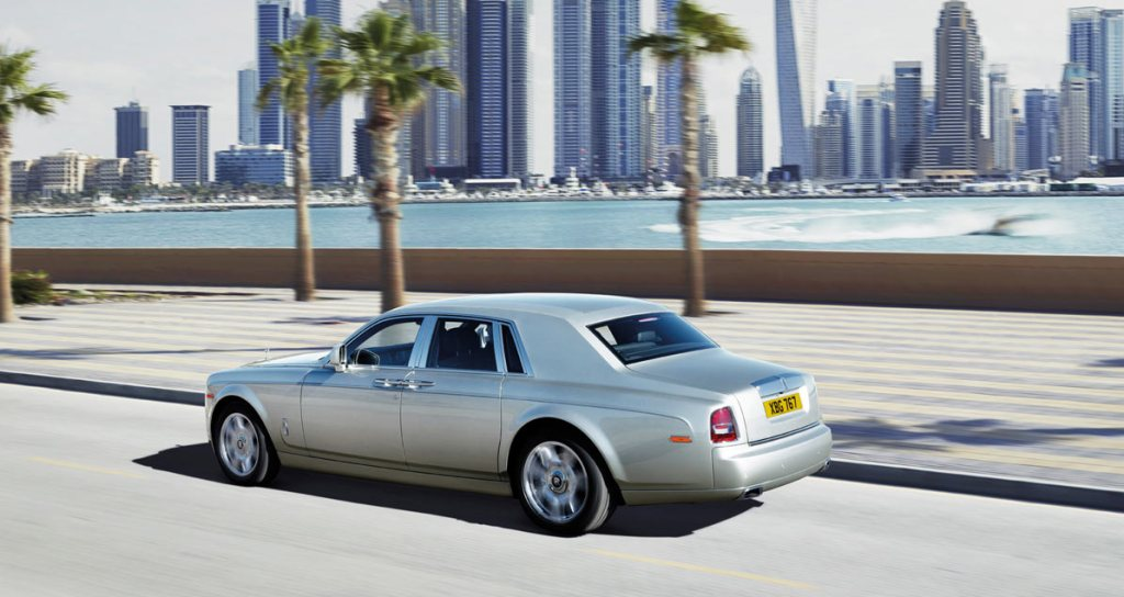 2014 Rolls Royce Phantom Rear