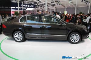 2014 Skoda Superb Side