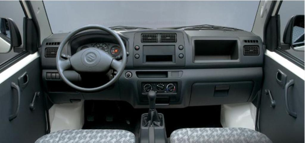 2014 Suzuki Carry Interior
