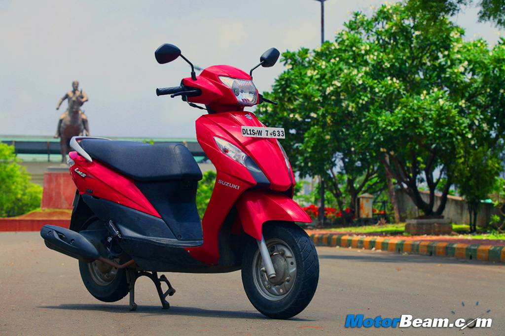 2014 Suzuki Let's Test Ride Review