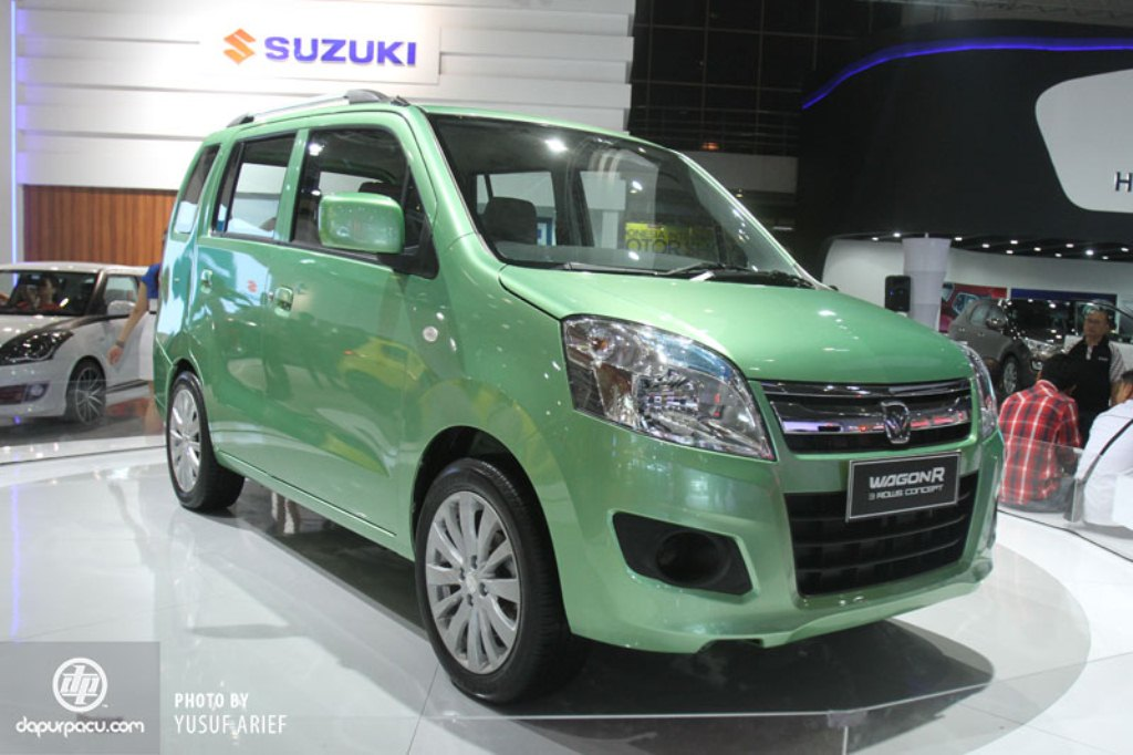 2014 Suzuki Wagon R 7 Seater Side