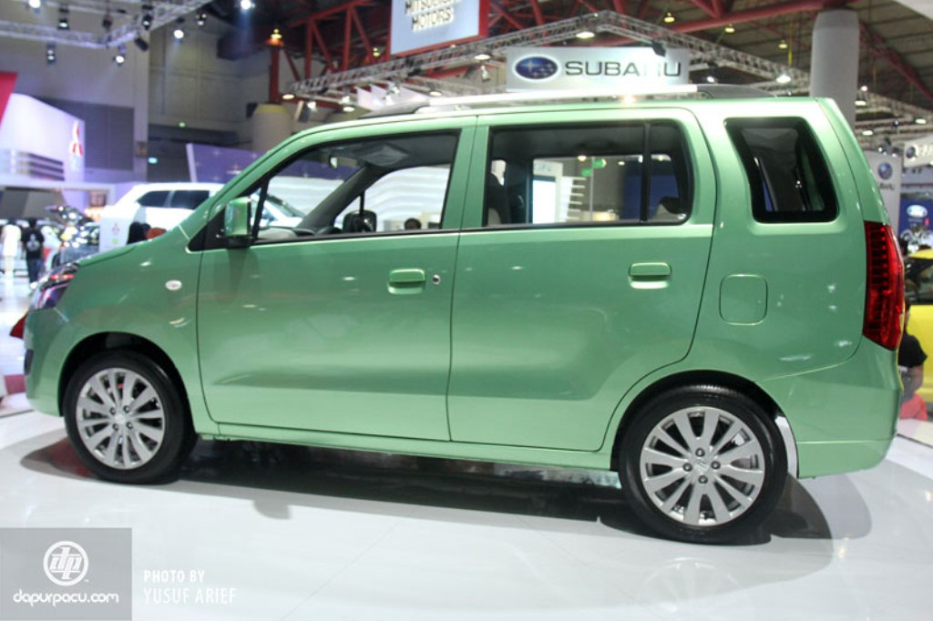 2014 Suzuki Wagon R MPV Side