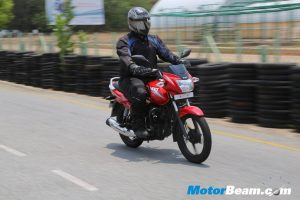 2014 TVS Star City+ Review Front