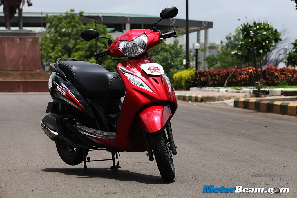 2014 TVS Wego Test Ride Review