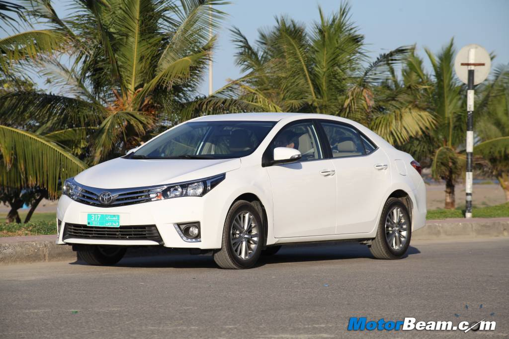 2014 Toyota Corolla Review India