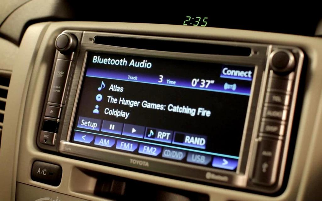 2014 Toyota Innova Limited Edition-Touchscreen Audio System