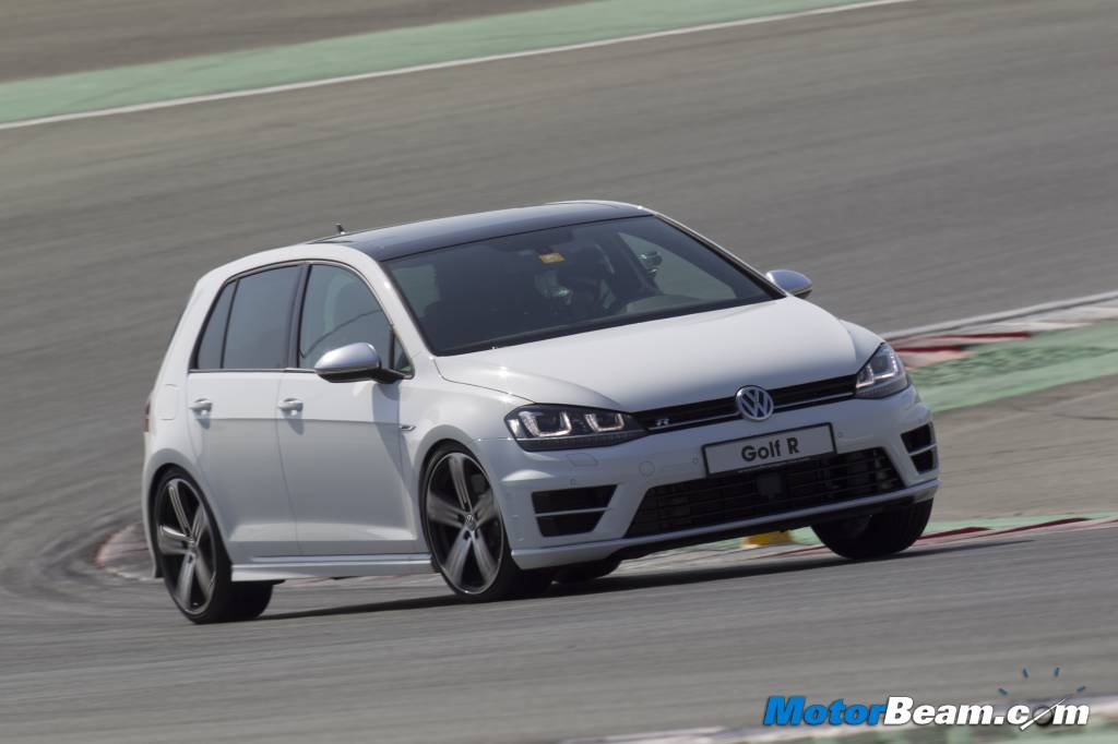 2014 Volkswagen Golf R Track Review