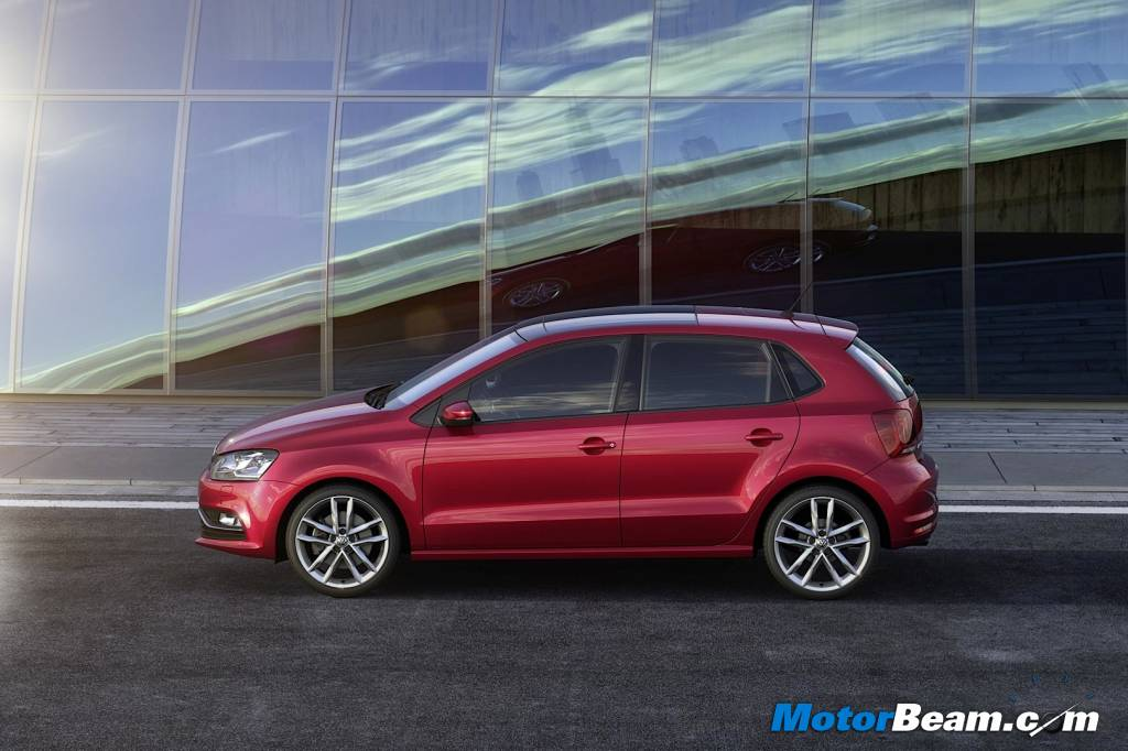 2014 Volkswagen Polo Facelift Red