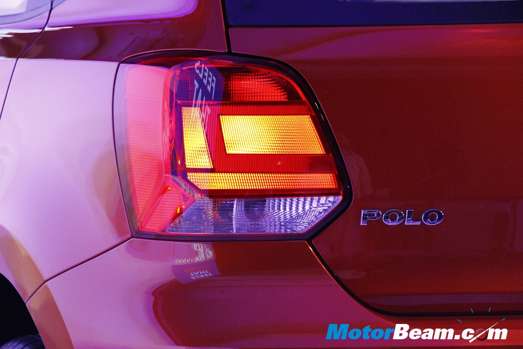 2014 Volkswagen Polo Tail Lights