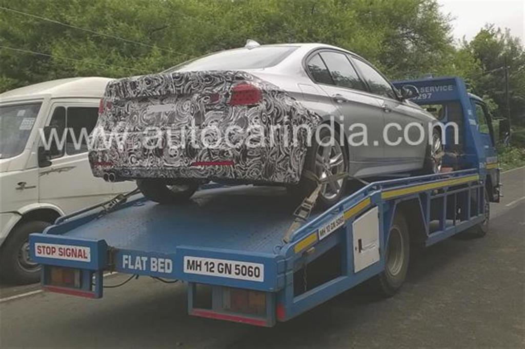 2015 BMW 3-Series Facelift Spotted
