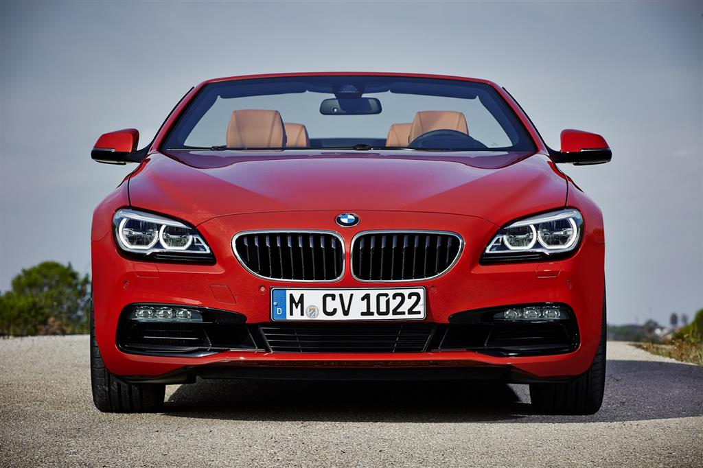 2015 BMW 6-Series Front