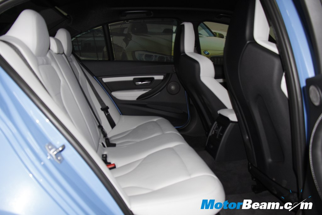 2015 BMW M3 Launch Legroom