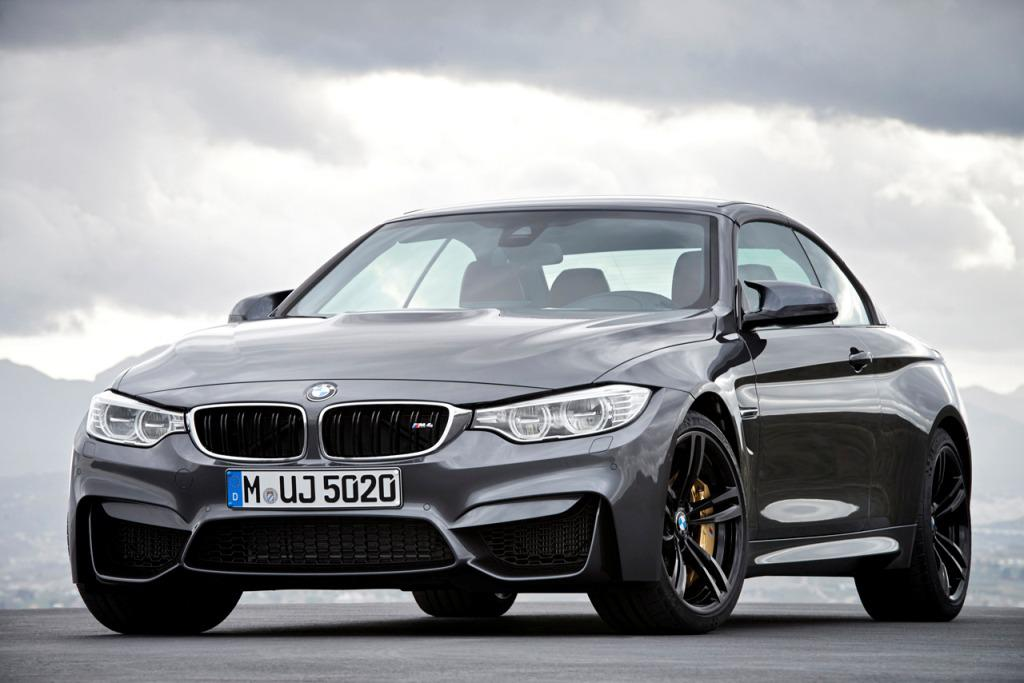 2015 BMW M4 Convertible Front