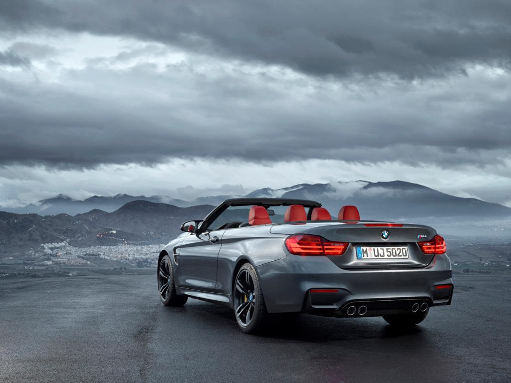 2015 BMW M4 Convertible Reveal