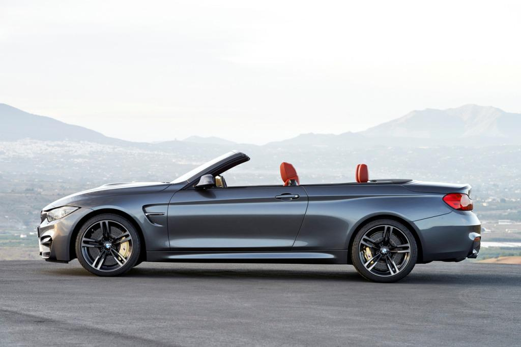 2015 BMW M4 Convertible Side